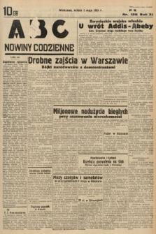 ABC : nowiny codzienne. 1936, nr128