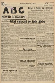 ABC : nowiny codzienne. 1936, nr131