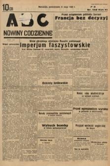 ABC : nowiny codzienne. 1936, nr138