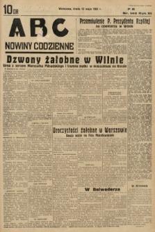 ABC : nowiny codzienne. 1936, nr140