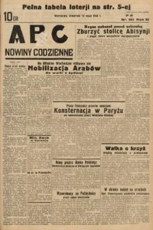 ABC : nowiny codzienne. 1936, nr141