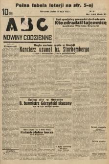 ABC : nowiny codzienne. 1936, nr142