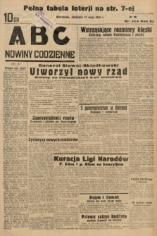 ABC : nowiny codzienne. 1936, nr144