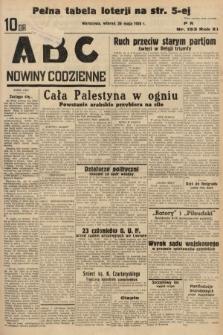 ABC : nowiny codzienne. 1936, nr153