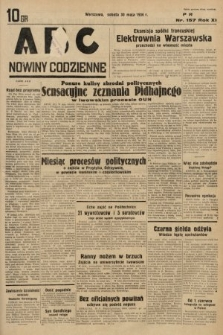 ABC : nowiny codzienne. 1936, nr157