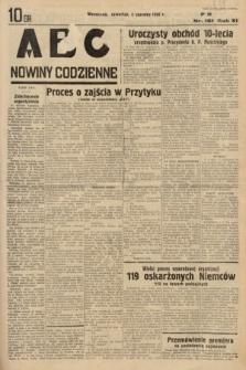 ABC : nowiny codzienne. 1936, nr161