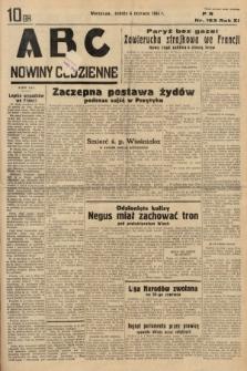 ABC : nowiny codzienne. 1936, nr163
