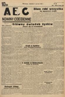 ABC : nowiny codzienne. 1936, nr164