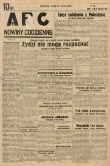 ABC : nowiny codzienne. 1936, nr167