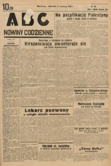ABC : nowiny codzienne. 1936, nr168