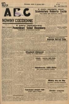 ABC : nowiny codzienne. 1936, nr169