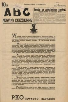 ABC : nowiny codzienne. 1936, nr171