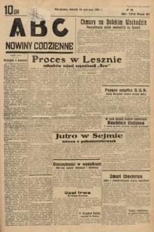 ABC : nowiny codzienne. 1936, nr173