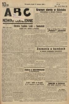 ABC : nowiny codzienne. 1936, nr174
