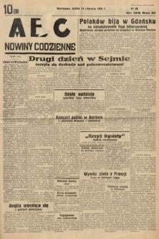 ABC : nowiny codzienne. 1936, nr176