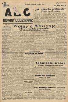 ABC : nowiny codzienne. 1936, nr177