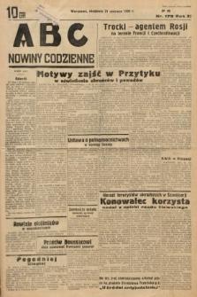 ABC : nowiny codzienne. 1936, nr178