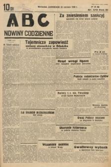 ABC : nowiny codzienne. 1936, nr179