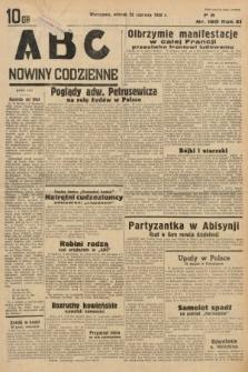 ABC : nowiny codzienne. 1936, nr180