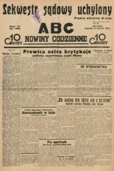 ABC : nowiny codzienne. 1936, nr182