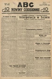 ABC : nowiny codzienne. 1936, nr184