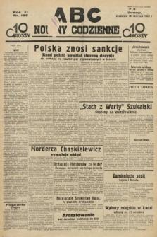 ABC : nowiny codzienne. 1936, nr185