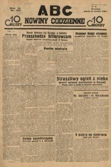ABC : nowiny codzienne. 1936, nr187
