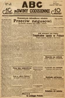 ABC : nowiny codzienne. 1936, nr189
