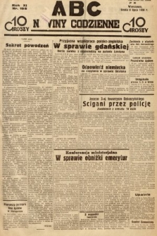 ABC : nowiny codzienne. 1936, nr195