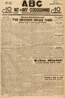 ABC : nowiny codzienne. 1936, nr199