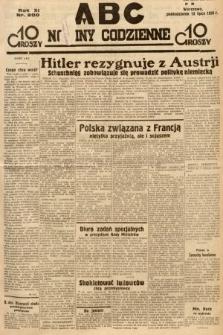 ABC : nowiny codzienne. 1936, nr200