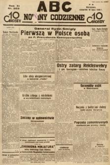 ABC : nowiny codzienne. 1936, nr203