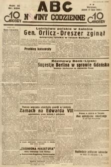 ABC : nowiny codzienne. 1936, nr204