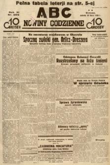 ABC : nowiny codzienne. 1936, nr205