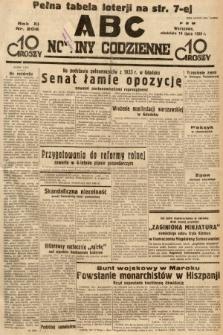 ABC : nowiny codzienne. 1936, nr206