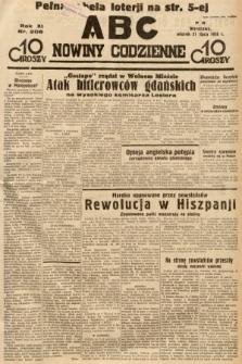 ABC : nowiny codzienne. 1936, nr208