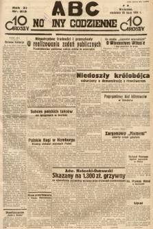 ABC : nowiny codzienne. 1936, nr213