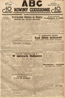 ABC : nowiny codzienne. 1936, nr215