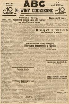 ABC : nowiny codzienne. 1936, nr218