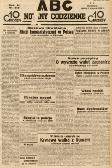 ABC : nowiny codzienne. 1936, nr219
