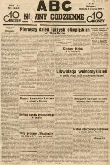 ABC : nowiny codzienne. 1936, nr220