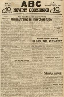 ABC : nowiny codzienne. 1936, nr221