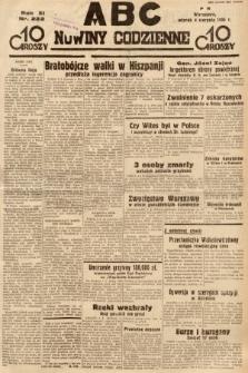 ABC : nowiny codzienne. 1936, nr222