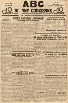ABC : nowiny codzienne. 1936, nr224