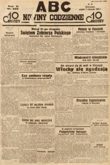 ABC : nowiny codzienne. 1936, nr225