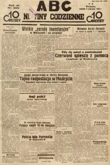 ABC : nowiny codzienne. 1936, nr226