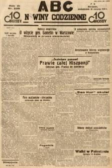 ABC : nowiny codzienne. 1936, nr228
