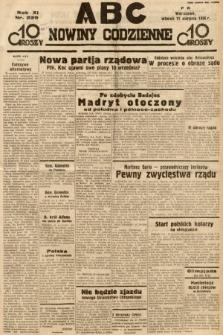 ABC : nowiny codzienne. 1936, nr229