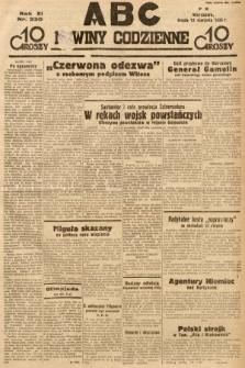 ABC : nowiny codzienne. 1936, nr230