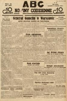 ABC : nowiny codzienne. 1936, nr231